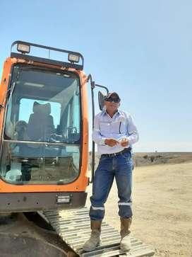 Operador de excavadora