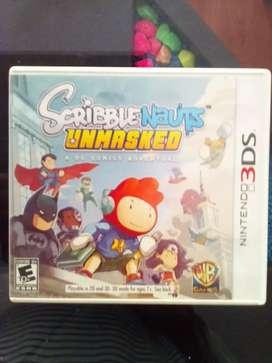 Nintendo 3DS - Scribble Nauts Unmasked