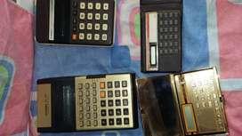 calculadoras antiguas funcionan juego x 4
