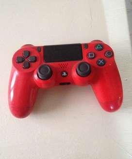 Joystick Rojo de PlayStation 4