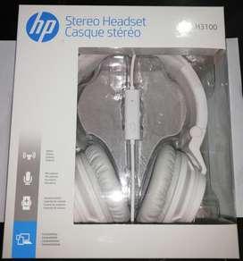 Vendo Audífonos Hp Stereo Modelo H3100