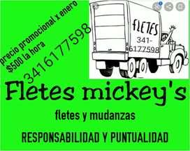 Flete y mudanzas mickey's