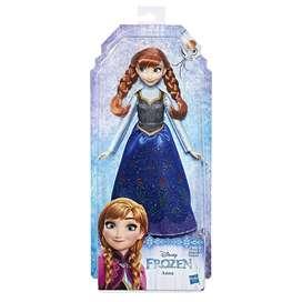 Disney Frozen Muñeca Anna, Multicolor Hasbro Original
