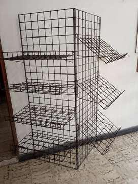 """Paneles Rejillas Exhibición Multifuncionales 24""""x72"""" y accesorios"""