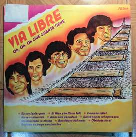 Disco vinilo Via Libre oh, oh, oh, que suerte tiene