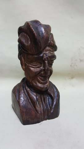 Escultura en Madera Cedro Itly Maciza