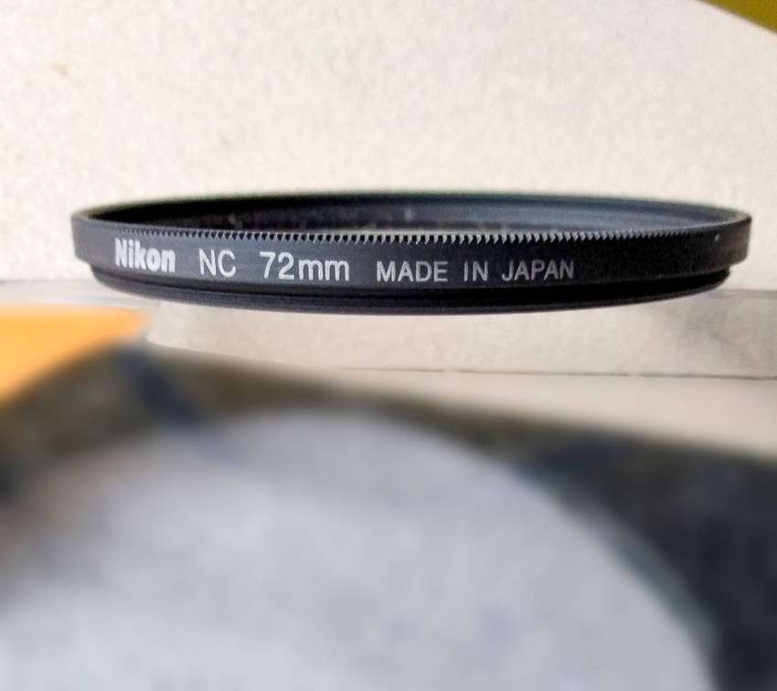 Filtro Nikon NC 72mm original japonés