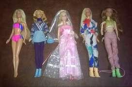 Muñecas Barbie-$900-1100
