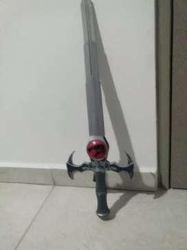 Espada de pasta modificable