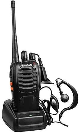 Radios Bidireccionales De Largo Alcance Recargables Arcshell AR-5