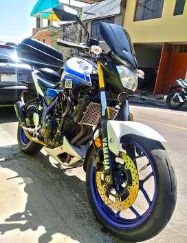 Vendo Moto Yamaha mt03 modelo 2017