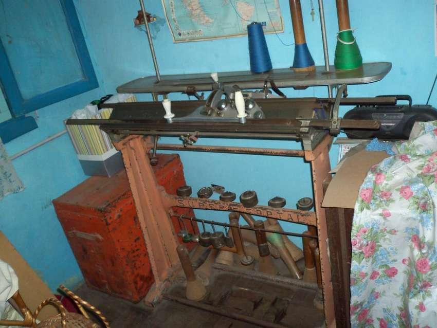 Maquina De Tejer N10 Y Devanadora 6 Usos Eléctrica. 0