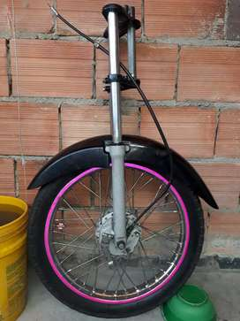 Suspension de moto Tvs 100 - Horquilla