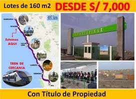 Venta de TERRENO en HUACHO Asociación de vivienda Montepinar   (INVERSION, OCASIÓN)