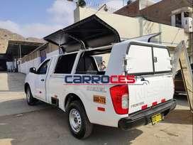 Venta y fabricación de cúpula para cualquier tipo de camioneta.
