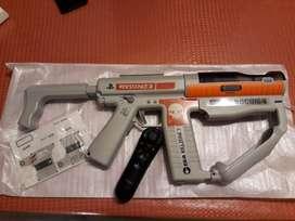 Rifle PS3 + joystick navigation + Juego Socom 4 + calcos. Excelente estado. Original.