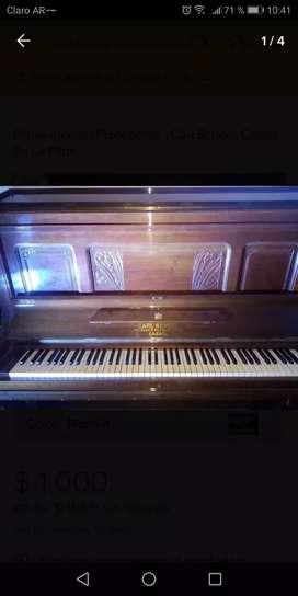 Piano Aleman,l 88 Tonos, 3 pedales, Carl Scheel Cassel, excelente estado