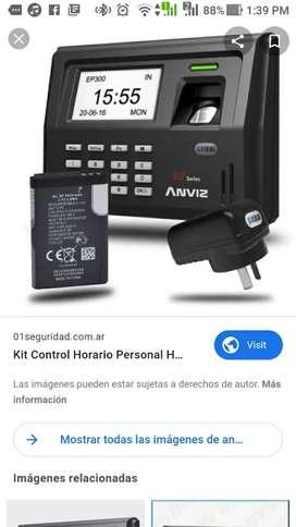 Control accesos personal