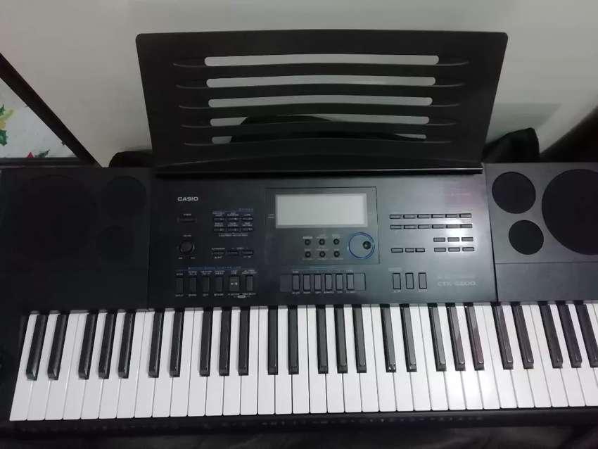 Piano CASIO CTK-6200 0