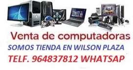 COMPUTADORA Y CPU CORE I7- CORE I5- CORE I3- CORE 2 QUAD- DUAL CORE GARANTIA 1 AÑO ESTAMOS EN WILSON