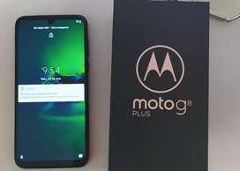 Celular Motorola G8 plus con factura, Ram 4g-64gb Cargador original Turbo Power