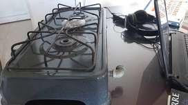 Vendo estufa de mesa dos puesto, gas domiciliario casi nueva