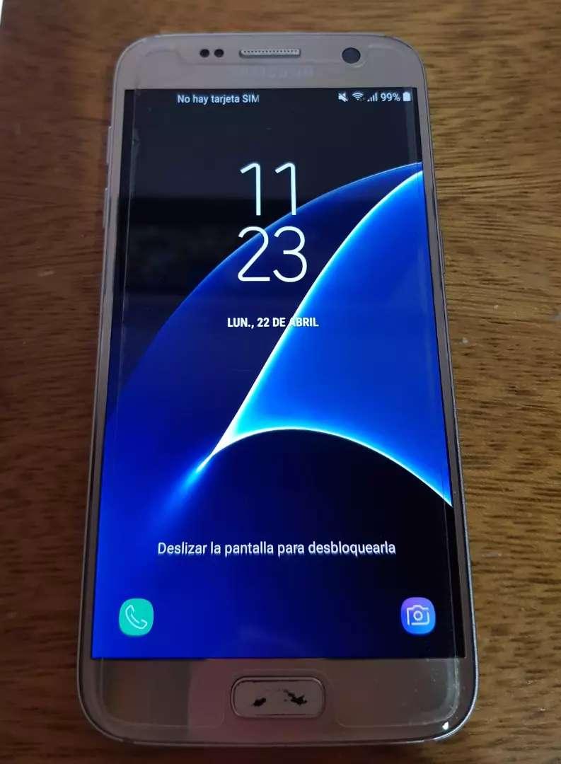 Samsung s7 dorado 64gb usado