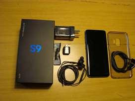 S9 Samsung Galaxy S 9 Usado Liberado perfecto estado  sin golpes sin rayas