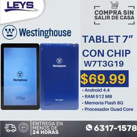 Tablet con Chip Westinghouse