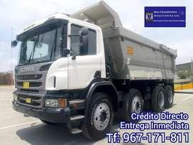 Camión Volquete Scania P460 año 2014