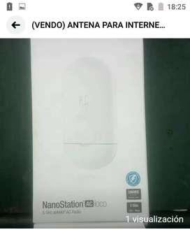 Antena nueva de internet