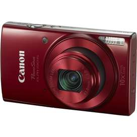 Camara Canon Powershot Elph 190 20mp,zoom 10x, Wifi, Video Hd, Red