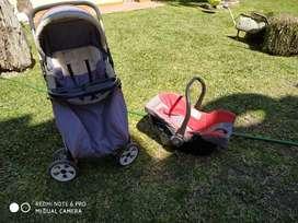 COCHECITO INFANTI con HUEVITO PARA AUTO