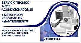 SERVICIO TÉCNICO AIRES ACONDICIONADOS JR