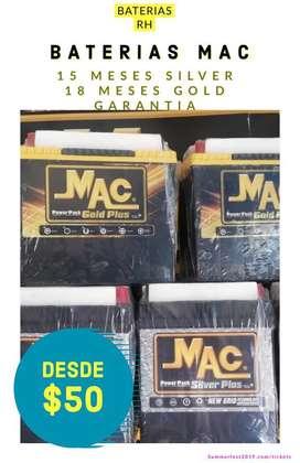 BATERIAS MAC SILVER Y GOLD 15-18 MESES DE GARANTIA