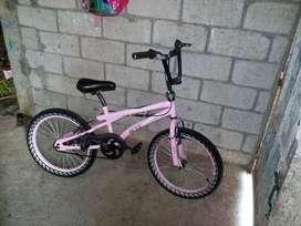 bicicleta bmx seminueva