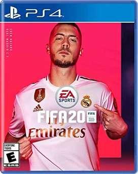 FIFA 20 PARA PLAY STATION 4 ENTREGA HOY A DOMICILIO