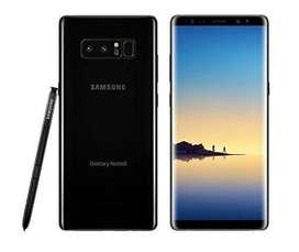 Samsung Note 8 Negro Liberado Acepto Bitcoin y otras