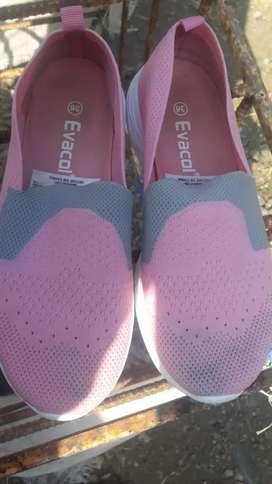 Zapatos evacon rosados