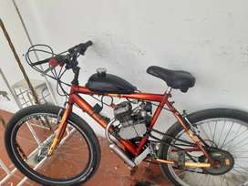 Bicecleta ciclomotor caballo 26