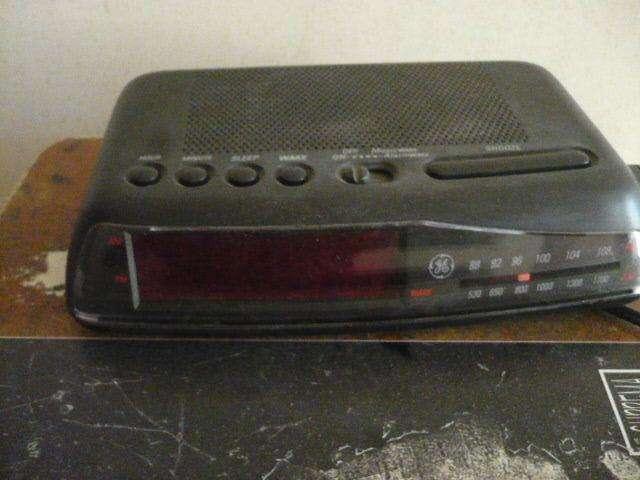 radio reloj general electric