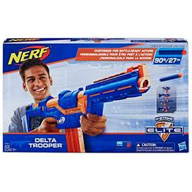 Nerf N-strike Elite Delta Trooper, Comes With 12 Official Ne