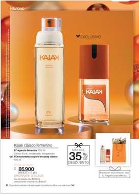 Perfume femenino KAIAK NATURA