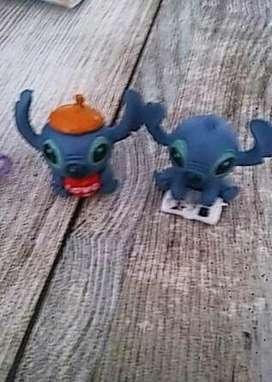 Set Mini Figura Stitch 4 Modelos