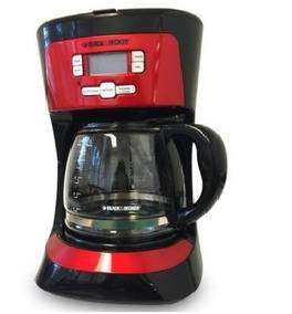 Coffee Maker Digit Progr 12tz Rojo Black & Decker Mo Cm2021r