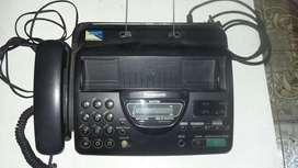 Telefono Fax Id Panasonic Usado
