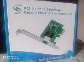 Targeta PCI -E10/100 Mbps Gigabit Ethernet