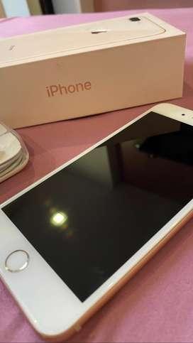 Iphone 8 plus 64 gb en perfecto estado