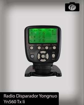 Disparador Yongnuo 560-tx Ii Para DSLR
