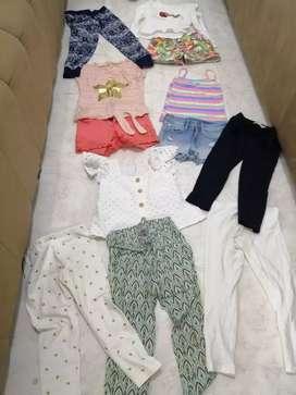 Lote de ropa talla 5-6 completo